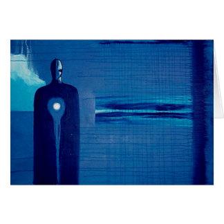 Cartão Anjo azul por Gregory Gallo