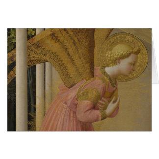Cartão Anjo CC0817 do aviso do Fra Angelico