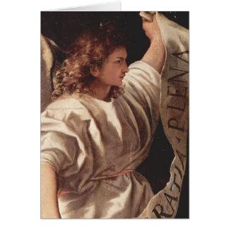 Cartão Anjo com bandeira 1522