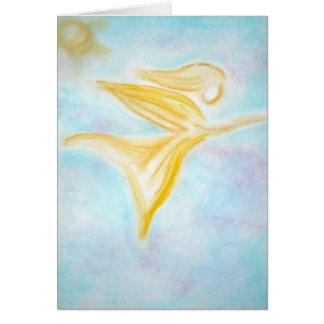 Cartão Anjo da cura