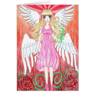 Cartão Anjo da esperança