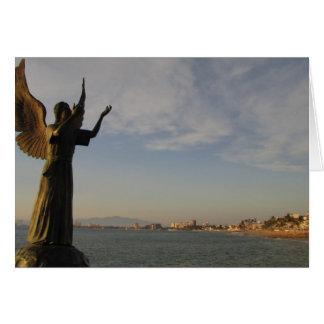 Cartão Anjo de AGPV que guarda Puerto Vallarta