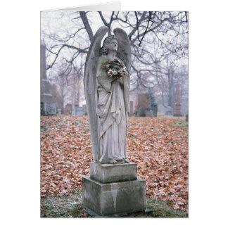 Cartão Anjo de pedra