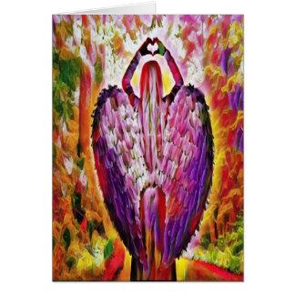 Cartão anjo do amor