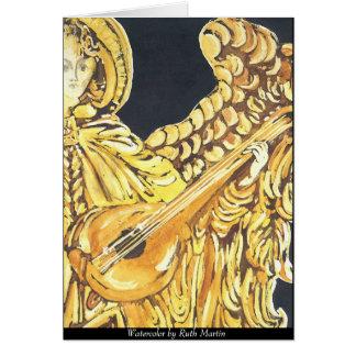 Cartão Anjo do Musical do Natal