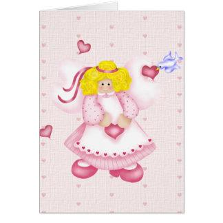 Cartão Anjo do querido