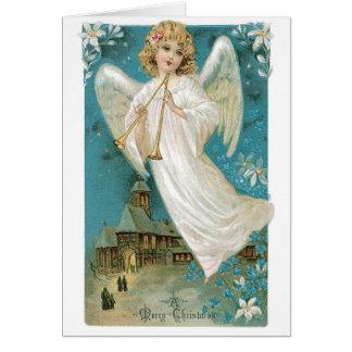 Cartão Anjo do vintage
