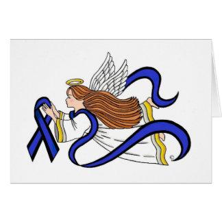 Cartão Anjo fino de Blue Line