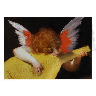 Cartão Anjo italiano do renascimento