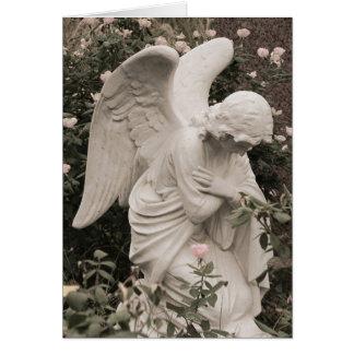 Cartão Anjo na bênção