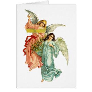 Cartão Anjos celestiais