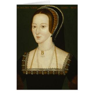 Cartão Anne Boleyn