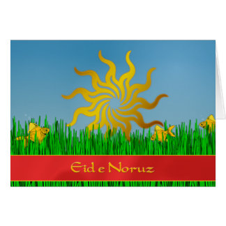 Cartão Ano novo iraniano