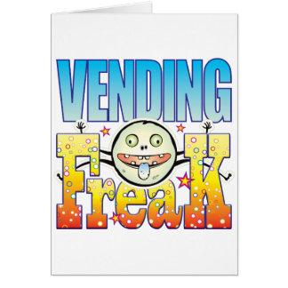 Cartão Anormal Freaky Vending