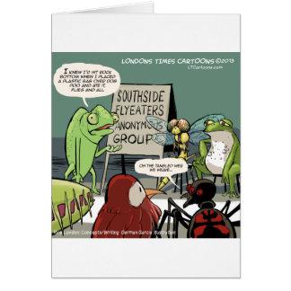 Cartão Anteaters 12-Step anónimo engraçados