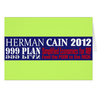Cartão Anti design 2012 do presidente 999 PLANO de Herman