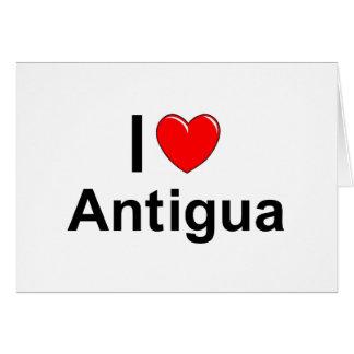 Cartão Antígua