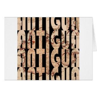 Cartão antigua1794