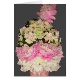 Cartão Antoinette nas flores