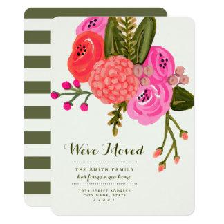 Cartão Anúncios moventes do jardim do vintage