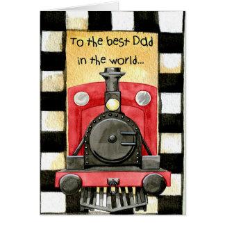 Cartão Ao melhor pai