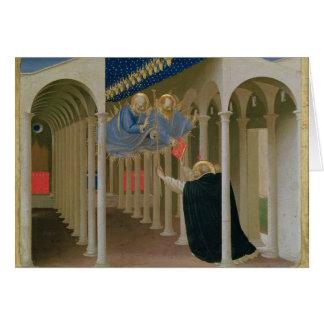 Cartão Aparição dos SS. Peter e Paul ao St.
