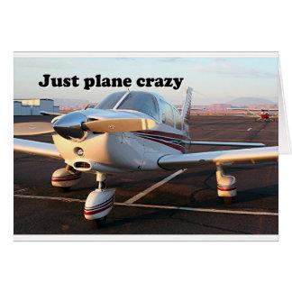 Cartão Apenas louco plano: aviões, página, arizona, EUA