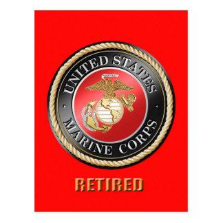 Cartão aposentado USMC