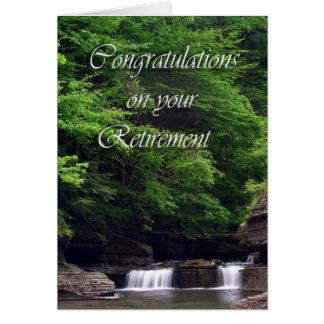 Cartão Aposentadoria das cachoeiras