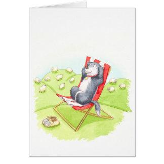 Cartão Aposentadoria do Sheepdog