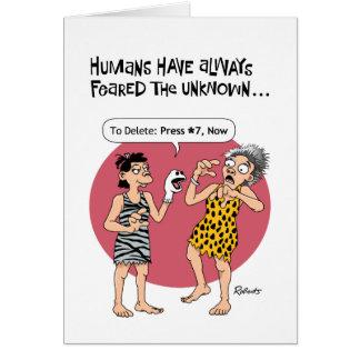 Cartão Aposentadoria fêmea engraçada
