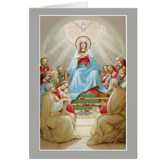 Cartão Apóstolos da Virgem Maria do Espírito Santo da