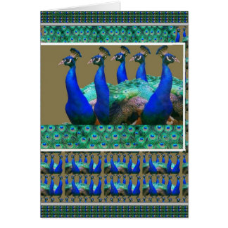 Cartão Aprecie:  O pavão n empluma-se gráficos da arte