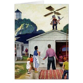 Cartão Aprendizagem voar