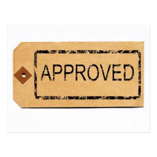 Cartão aprovado