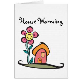 Cartão Aquecimento da casa