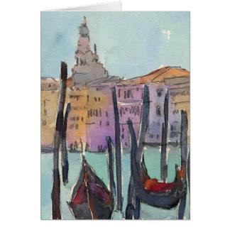 Cartão Ar IV de Veneza Plein