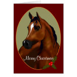 Cartão árabe feito sob encomenda do cameo do Natal