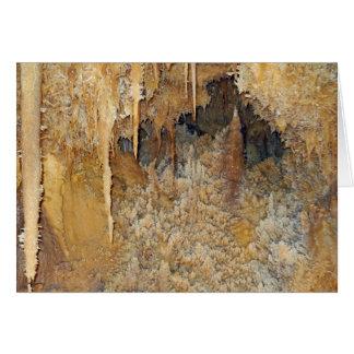 Cartão Arcada de flores da caverna