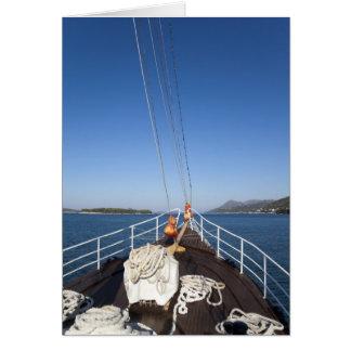 Cartão Arco do navio