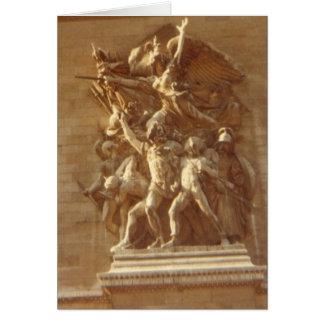 """Cartão """"Arco do Triunfo, Paris """""""
