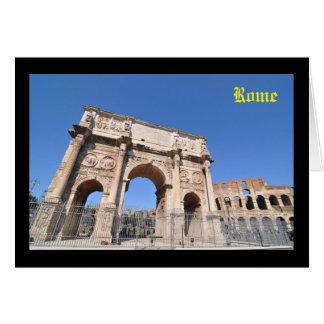 Cartão Arco em Roma, Italia