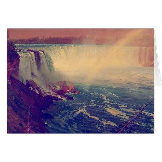 Cartão Arco-íris de Niagara Falls