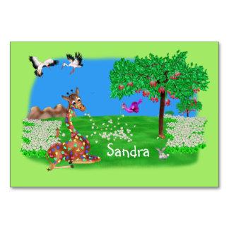 Cartão Arco-íris & Lila de Flowerchain pelo Juul feliz