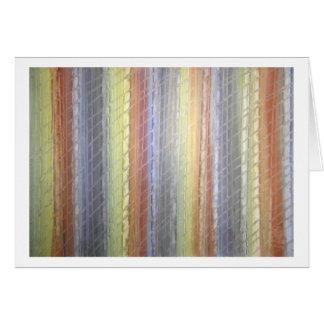 Cartão Arcos-íris cintilantes