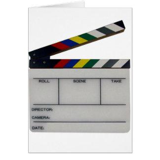 Cartão Ardósia da cineasta do filme da ripa