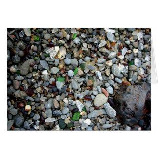 Cartão Areia de vidro