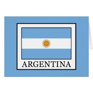 Cartão Argentina