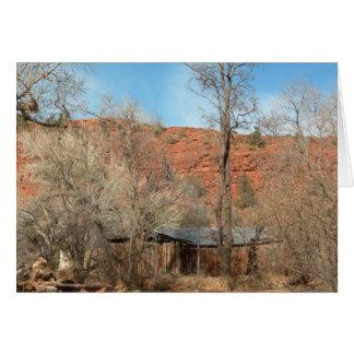 Cartão Arizona Ridge de Sedona (vazio)