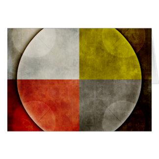 Cartão Aro sagrado do nativo americano